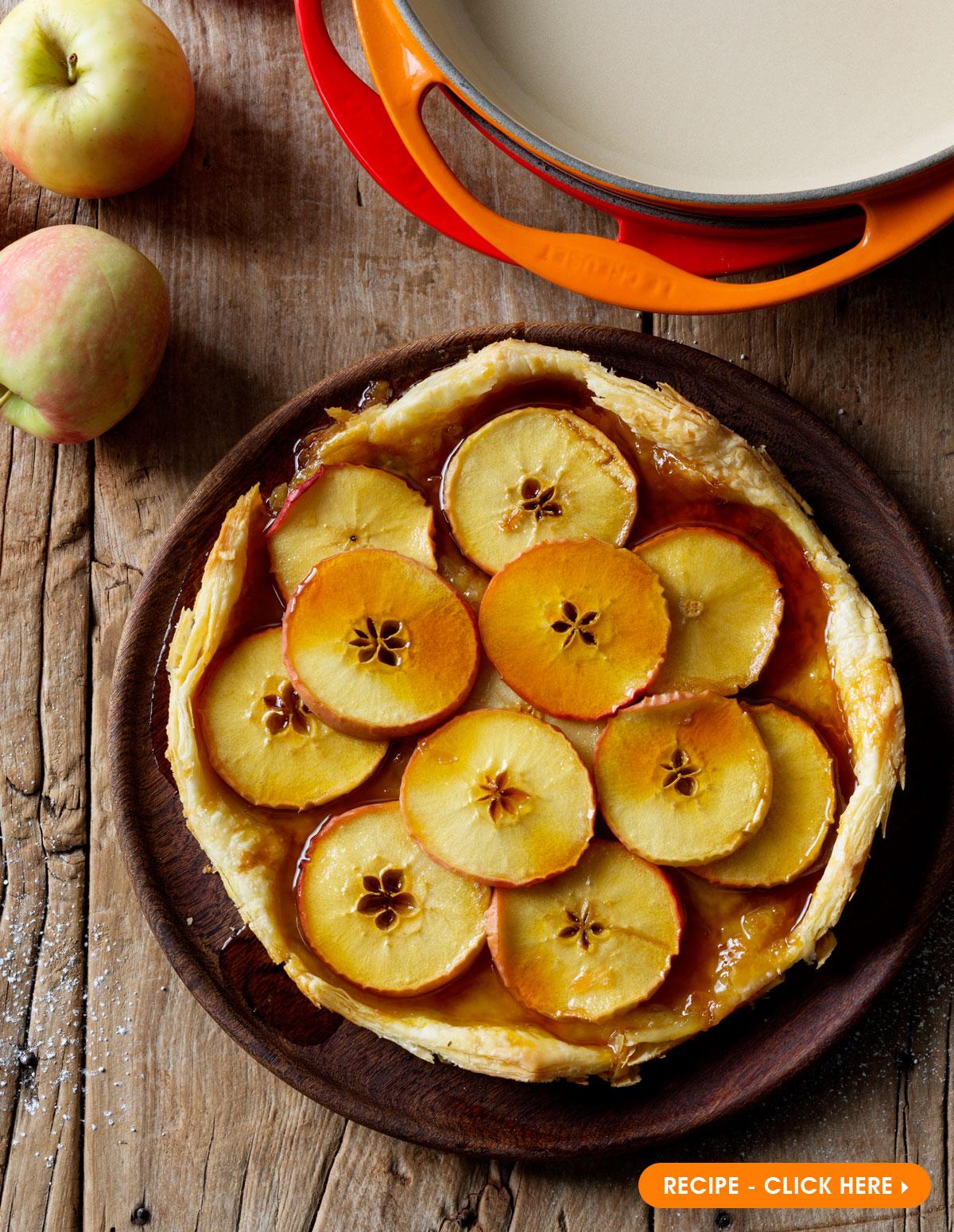 Le Creuset Apple Tarte Tatin Recipe