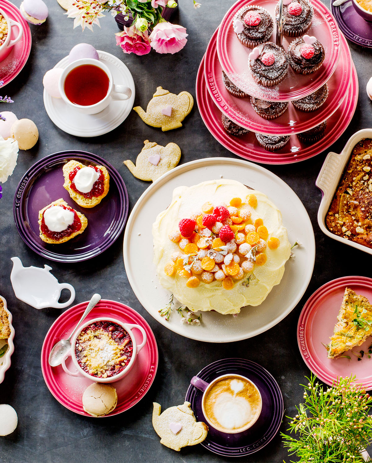 How To Host A Pretty Perfect Tea Party Le Creuset