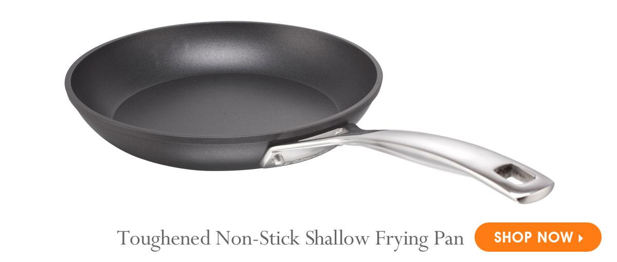 Toughened Non-Stick Shallow Frying Pan