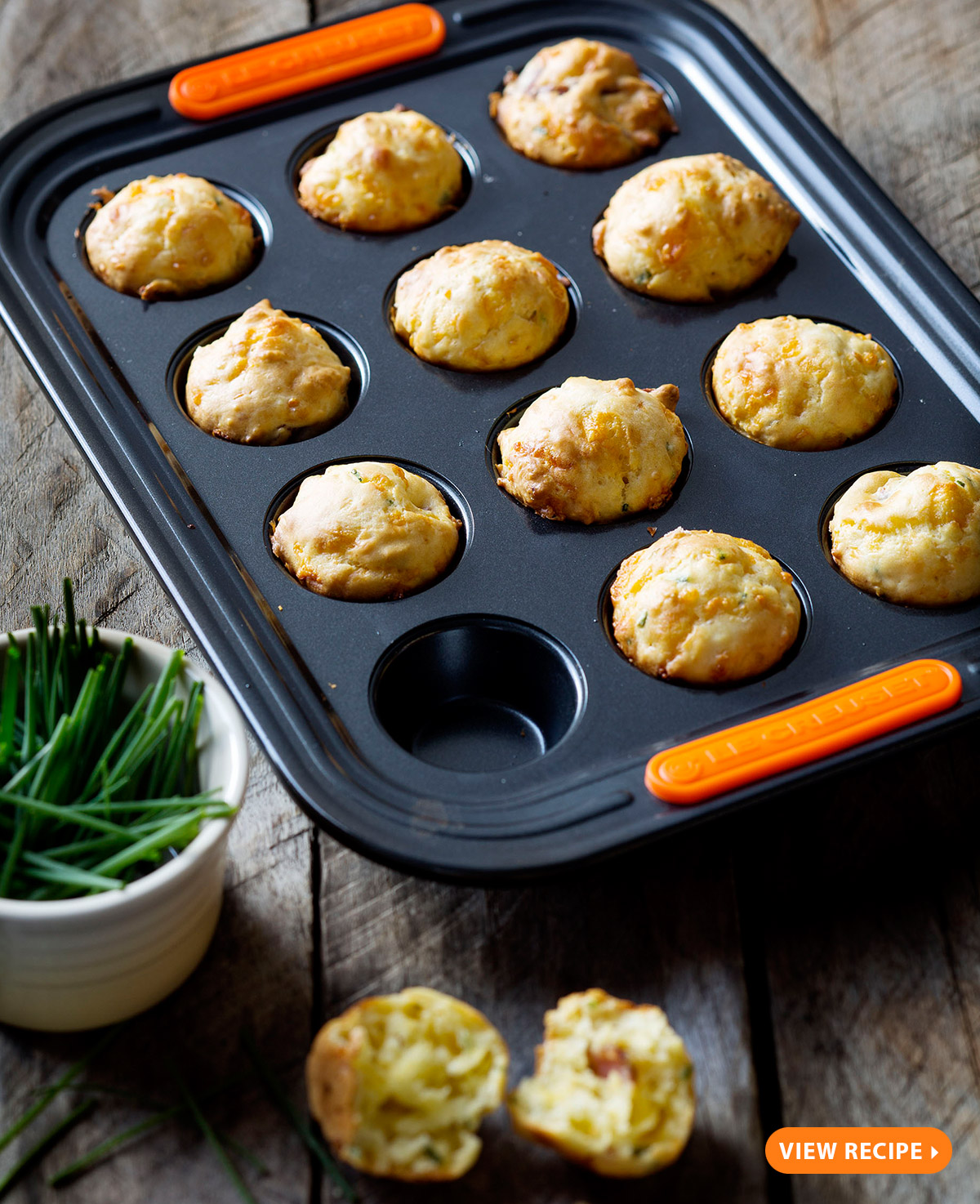 with the flavours of crispy bacon, grated cheddar and fresh chives ...