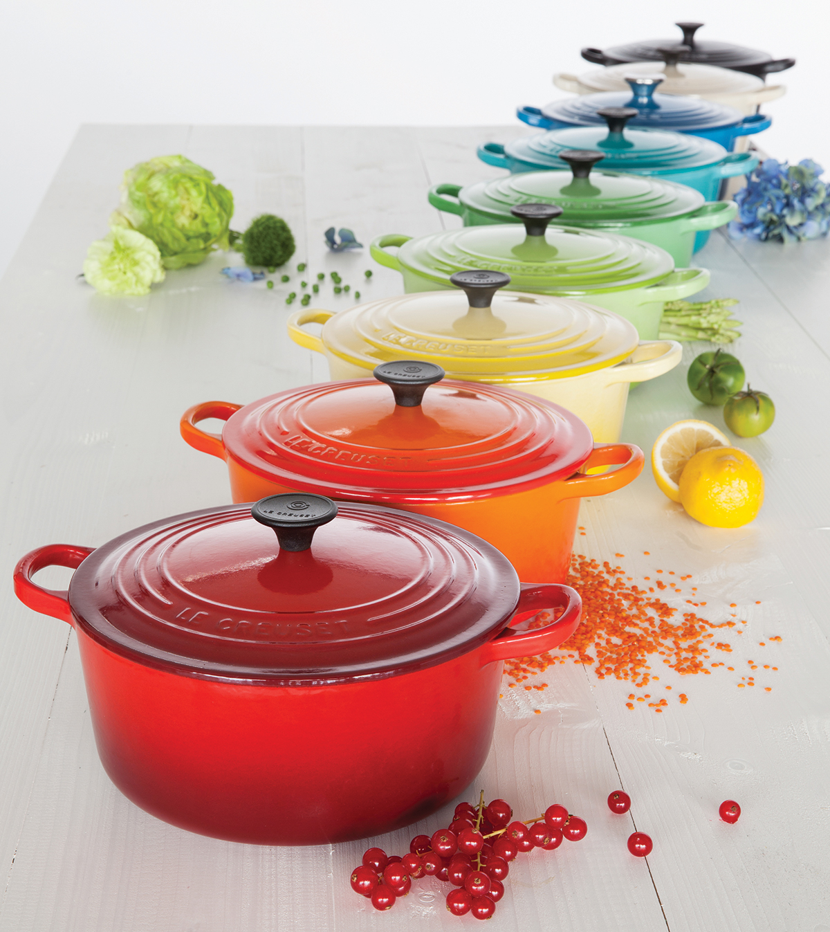 le creuset le creuset casserole size guide. Black Bedroom Furniture Sets. Home Design Ideas