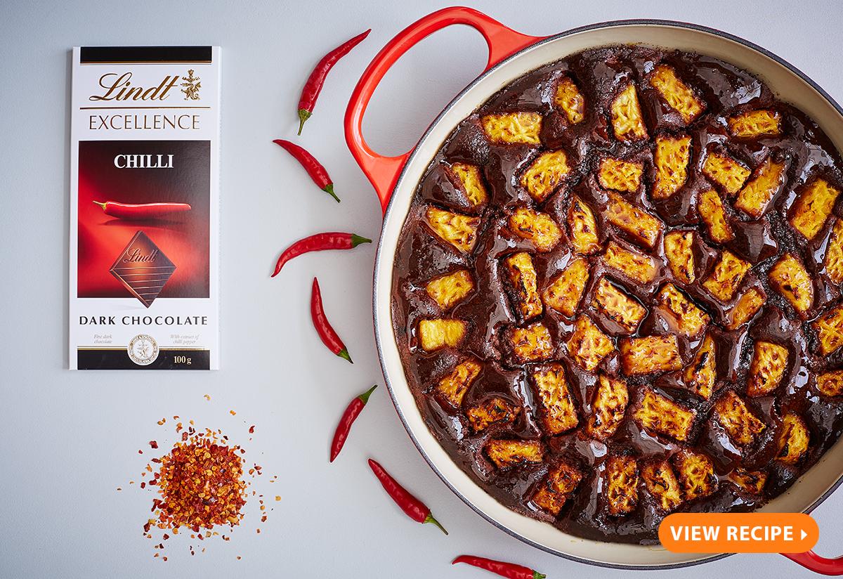 Orange Decadence Cake Lindt