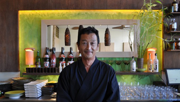 Chef Koshi from Kyoto Garden Sushi