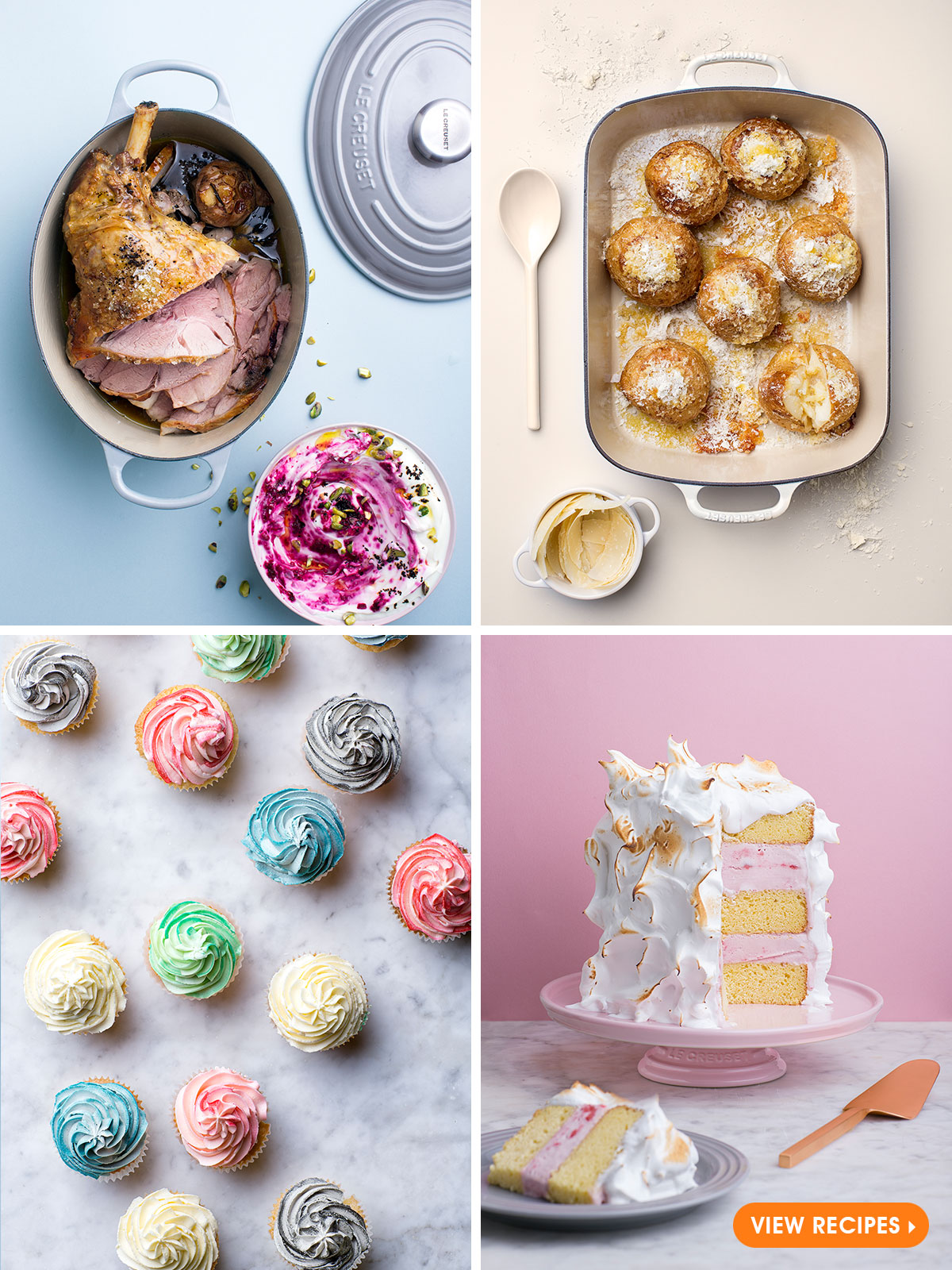 Le Creuset Mother's Day Recipes