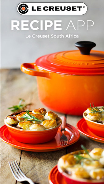 App Download Le Creuset Recipes
