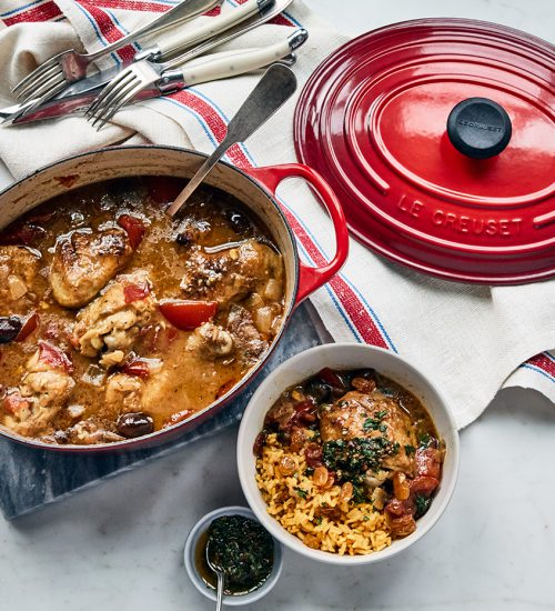 Moroccan Chicken Stew with Chermoula
