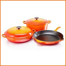 induction cookware le creuset. Black Bedroom Furniture Sets. Home Design Ideas